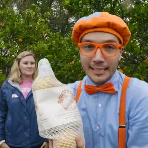 Blippi Visits an Orange Farm - Learning Fruits & Healthy Eating | Educational Videos For Kids