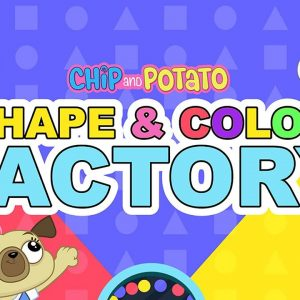Chip and Potato Learn Shapes & Colors at the Factory ⚙️ Netflix Jr