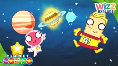 Planet Cosmo   Can You Name All the Planets in the Solar System?   Full Episodes   Wizz Explore