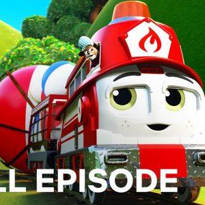 How the Ball Bounces | Mighty Express FULL EPISODE on Teamwork | Netflix Jr