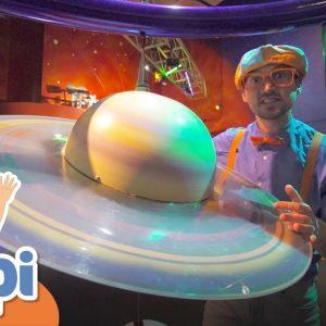 Blippi Visits The Science Museum For Children | Educational Videos For Kids