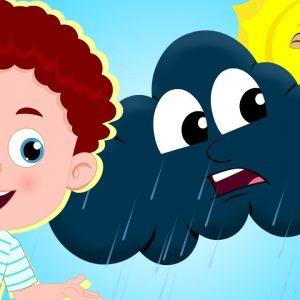 Rain Rain Go Away - Nursery Rhymes & Children Songs | Schoolies Cartoons for Kids