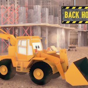 Construction Vehicles for Children | jcb | Kids Learning Videos | Street Vehicles