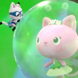 Dollhouse Defenders Save Kitty Fairy 🦸♀️ Gabby's Dollhouse | Netflix Jr