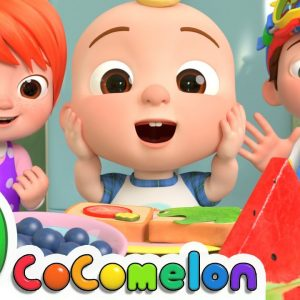 Shapes In My Lunch | CoComelon Nursery Rhymes & Kids Songs