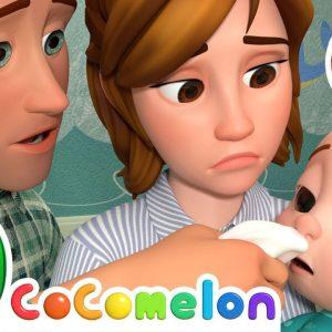 Sick Song + More Nursery Rhymes & Kids Songs - CoComelon