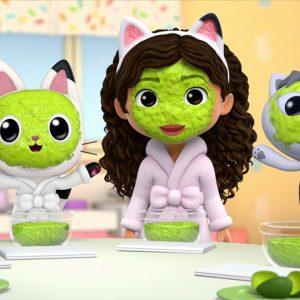 Squishy Squeezy Glow Masks ✨ Gabby's Dollhouse | Netflix Jr