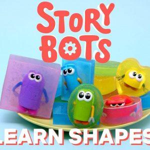 StoryBots DIY Soap Shapes for Kids! | Netflix Jr