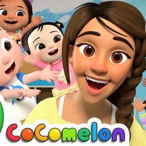 Teacher Song + More Nursery Rhymes & Kids Songs - CoComelon