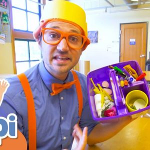 Learning With Blippi at The Hands On Children's Museum | Educational Videos For Kids