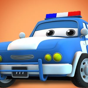 The Burglar - Car Cartoon Videos for Children from Kids Channel