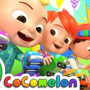 The Car Color Song + More Nursery Rhymes & Kids Songs - CoComelon