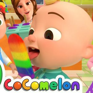 The Colors Song (with Popsicles) | CoComelon Nursery Rhymes & Kids Songs