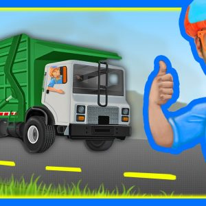 The Garbage Truck Song by Blippi | Songs for Kids