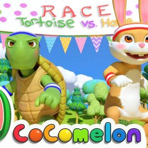 The Tortoise and the Hare | CoComelon Nursery Rhymes & Kids Songs