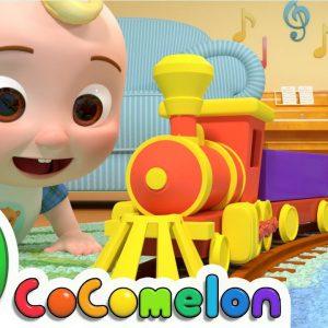 Train Song | CoComelon Nursery Rhymes & Kids Songs