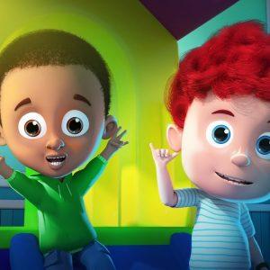 Five Little Schoolies | Schoolies Cartoon Videos | Fun For Babies by Kids Channel