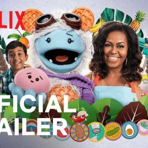 Waffles + Mochi Trailer | Audio Description | Netflix Jr