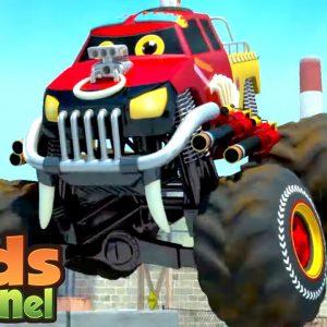 We Are The Monster Trucks | Car Cartoon Videos for Children - Kids Channel