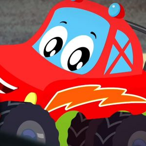 We Are The Monster Trucks - Little Red Cartoon Videos from Kids Channel