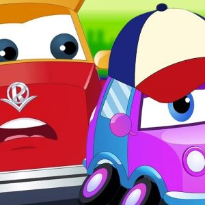 Super Car Royce & Baby | We are the Monster Trucks | Vehicle songs for Children by Kids Channel