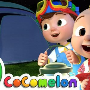 Yes Yes Bedtime Camping Song | CoComelon Nursery Rhymes & Kids Songs