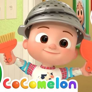 Clean Up Song (Home Edition) + More Nursery Rhymes & Kids Songs - CoComelon
