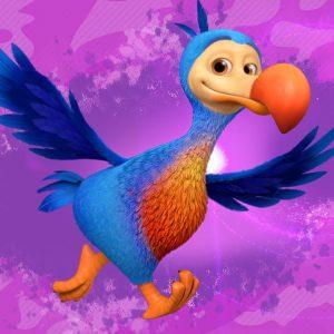 Dudley the Dodo Bird: Ridley's Flightless Friend Ridley Jones | Netflix Jr