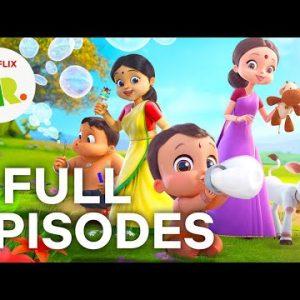 Mighty Little Bheem FULL EPISODES 1-4 💪 Season 1 Compilation 💪 Netflix Jr