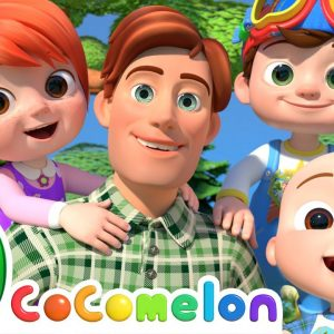 Father's Day Song | CoComelon Nursery Rhymes & Kids Songs