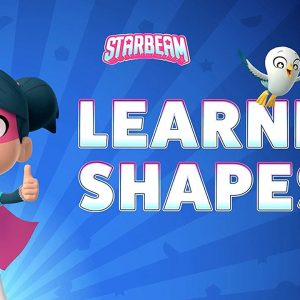 Learn Shapes with StarBeam ⭐️ Spot the Shapes Game | Netflix Jr