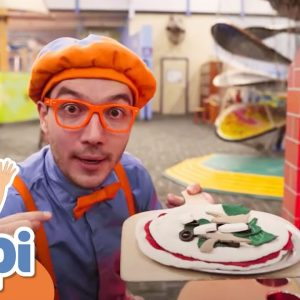 Blippi Visits a Children's Museum to Learn About Jobs & Careers For Kids | Educational Videos