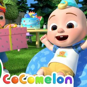 JJ's Birthday Musical Chairs Song | CoComelon Nursery Rhymes & Kids Songs