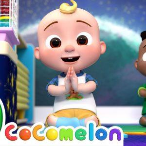 JJ's Yoga Song | CoComelon Nursery Rhymes & Kids Songs