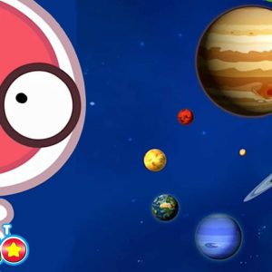@PlanetCosmoTV| Facts About Mercury, Saturn and Jupiter | Planets for Kids | Wizz Explore