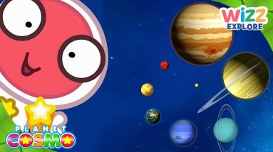 @PlanetCosmoTV  Facts About Mercury, Saturn and Jupiter   Planets for Kids   Wizz Explore
