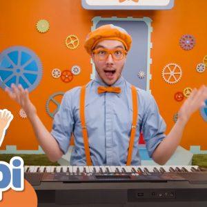 Blippi Learns Musical Instruments For Kids | Educational Videos For Kids