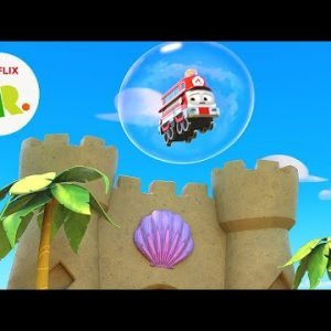 Bubble Popping Rescue Mission 😮 Mighty Express | Netflix Jr
