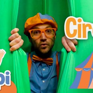 Blippi Goes To Circus School | Learning About The Circus With Blippi | Educational Videos