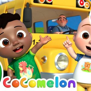Wheels on the Bus (Family Edition) + More Nursery Rhymes & Kids Songs - CoComelon