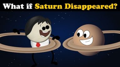 What if Saturn Disappeared? + more videos | #aumsum #kids #children #education #whatif