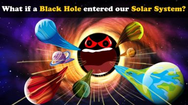 What if a Black Hole entered our Solar System? + more videos | #aumsum #kids #education #children