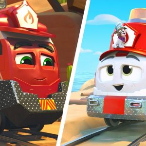 'Good Good Day' Mighty Express Song for Kids 🎵 Netflix Jr Jams