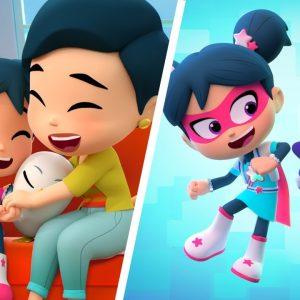 StarBeam Gratitude Song for Kids 💗 Netflix Jr Jams