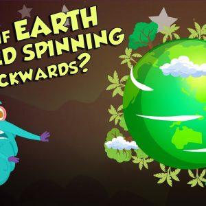 What If EARTH Starts Spinning Backward? | Earth | Dr Binocs Show | Peekaboo Kidz