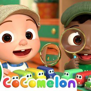 10 Little Buses Song | CoComelon Nursery Rhymes & Kids Songs