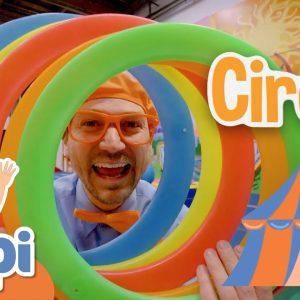 Blippi Circus Adventure! | Educational Videos For Kids | 1 Hour of Blippi Kids TV Show For Children