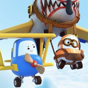 Cory Fights the Flight School Freights ✈️ Go! Go! Cory Carson | Netflix Jr