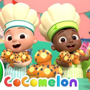 Muffin Man Song| CoComelon Nursery Rhymes & Kids Songs