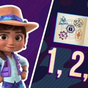 Museum Counting Game For Kids 🧐 | Ridley Jones | Netflix Jr